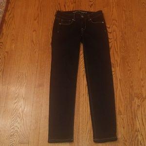 American Eagle dark wash skinny stretch jeans 2